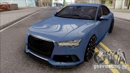 Audi RS7 Blue для GTA San Andreas