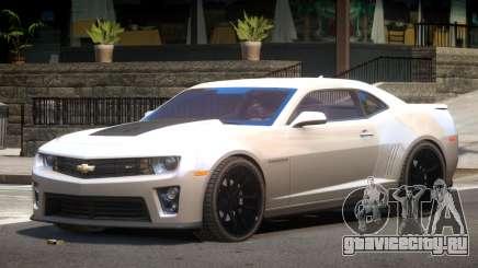 Chevrolet Camaro ZL1 ST для GTA 4