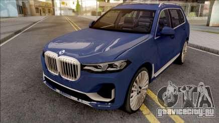 BMW X7 2020 Low Poly для GTA San Andreas