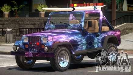 1988 Jeep Wrangler PJ2 для GTA 4