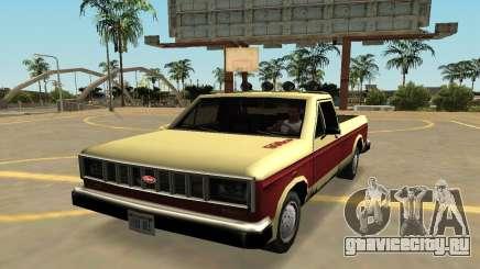 Бессодержательный Bobcat с значки и дополнения для GTA San Andreas