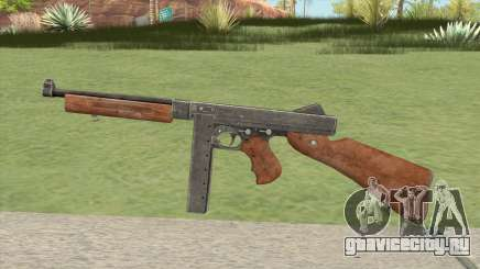 Thompson M1A1 (Hour Of Victory) для GTA San Andreas