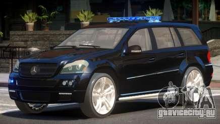 Mercedes GL450 Police V1.0 для GTA 4
