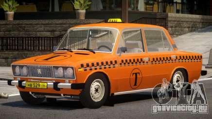 VAZ 2106 Taxi V1.0 для GTA 4