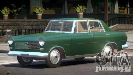 FSO Warszawa Sedan для GTA 4