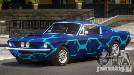 1967 Shelby GT500 V1.0 PJ2 для GTA 4