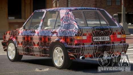 Volkswagen Golf Old PJ2 для GTA 4