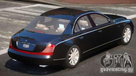 Maybach 57S V1.0 для GTA 4