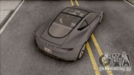 Tesla Roadster 2020 Performance LQ v2 для GTA San Andreas