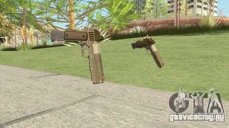 Heavy Pistol GTA V (Army) Base V2 для GTA San Andreas
