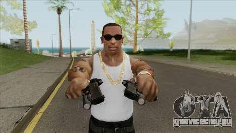 Heavy Pistol GTA V (LSPD) Flashlight V1 для GTA San Andreas