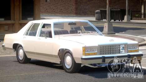 Ford LTD Crown Victoria V1.0 для GTA 4