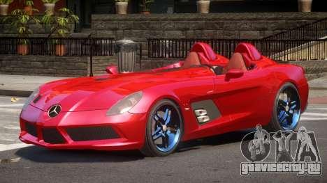Mercedes Benz SLR R-Tuning для GTA 4