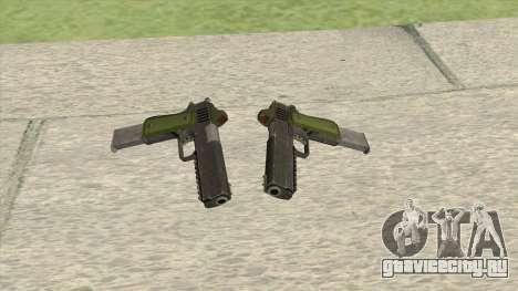 Heavy Pistol GTA V (Green) Base V2 для GTA San Andreas