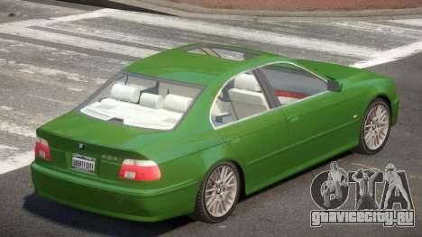 1992 BMW 525i V1.0 для GTA 4