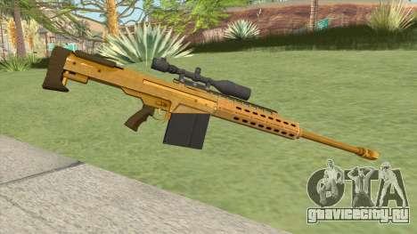 Heavy Sniper GTA V (Gold) V1 для GTA San Andreas
