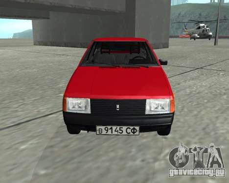 Москвич 2141 Красный для GTA San Andreas