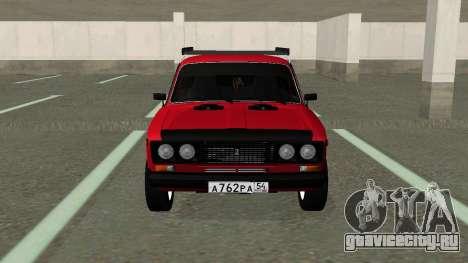 ВАЗ 2106 Колхоз для GTA San Andreas
