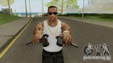 Heavy Pistol GTA V (OG Black) Base V2 для GTA San Andreas
