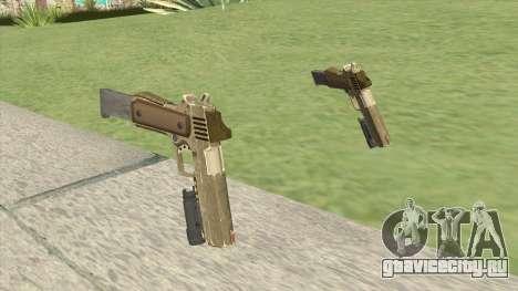 Heavy Pistol GTA V (Army) Flashlight V2 для GTA San Andreas