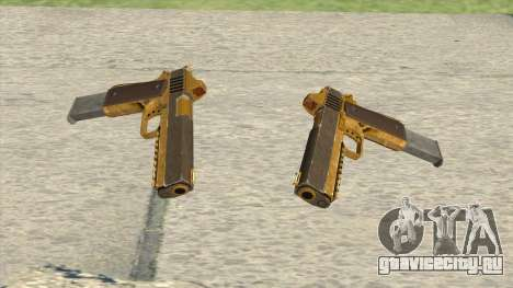 Heavy Pistol GTA V (Gold) Base V2 для GTA San Andreas