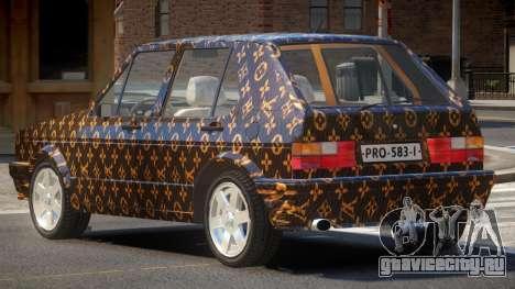 Volkswagen Golf Old PJ1 для GTA 4