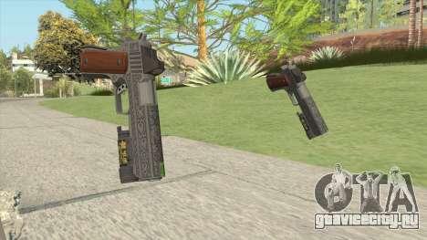 Heavy Pistol GTA V (Luxury) Flashlight V1 для GTA San Andreas