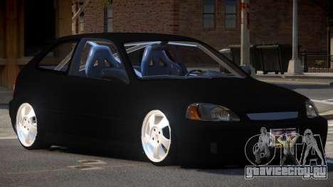 Honda Civic R-Tuned для GTA 4