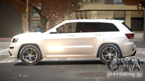 Jeep Grand Cherokee Edit для GTA 4
