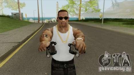 Heavy Pistol GTA V (OG Black) Flashlight V1 для GTA San Andreas