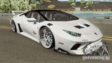 Lamborghini Huracan LP610-4 (LB Silhouette) для GTA San Andreas