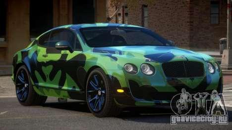 Bentley Continental Tuned PJ3 для GTA 4