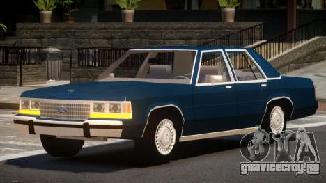 1989 Ford Crown Victoria для GTA 4