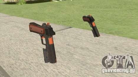 Heavy Pistol GTA V (Orange) Flashlight V1 для GTA San Andreas