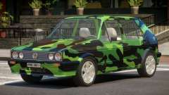 Volkswagen Golf Old PJ3 для GTA 4