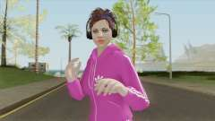 Random Female (Sweat Suit) V1 GTA Online для GTA San Andreas