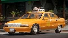 Chevrolet Caprice Taxi V1.0 для GTA 4