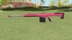 Heavy Sniper GTA V (Pink) V2 для GTA San Andreas