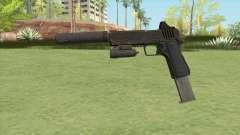 Heavy Pistol GTA V (OG Black) Full Attachments для GTA San Andreas