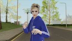 Random Female (Sweat Suit) V3 GTA Online для GTA San Andreas