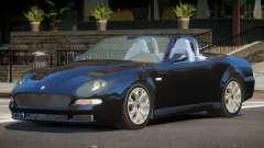 1998 Maserati 3200GT Spyder для GTA 4