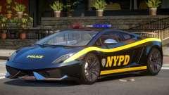 Lamborghini Gallardo Police V1.0 для GTA 4