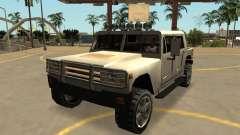Мамонт Патриот с гражданской значки и массовка для GTA San Andreas