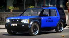 Land Rover Discovery Police V1.0 для GTA 4