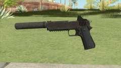 Heavy Pistol GTA V (OG Black) Suppressor V1 для GTA San Andreas
