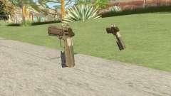 Heavy Pistol GTA V (Army) Flashlight V1 для GTA San Andreas