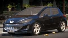 Peugeot 308 RS для GTA 4