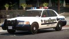 Ford Crown Victoria Police V2.1 для GTA 4