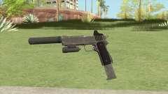 Heavy Pistol GTA V (Platinum) Full Attachments для GTA San Andreas