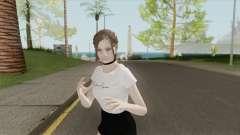 Claire Casual (Mini Skirt) для GTA San Andreas